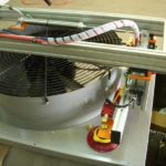 vacuum lift assist fan