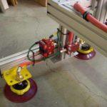 suction on vacuum lift assist