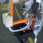 orange seat lift