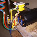 wires of vacuum lift assist