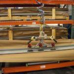 vacuum lifting sheet metal